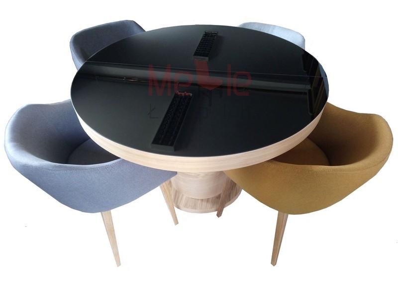 stol_okragly_rozkladany_na_jednej_nodze_z_szyba_fotele_krzesla_komuna_podlokietniki_dab