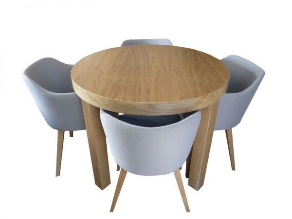 Stół Okrągły Rozkładany Max
