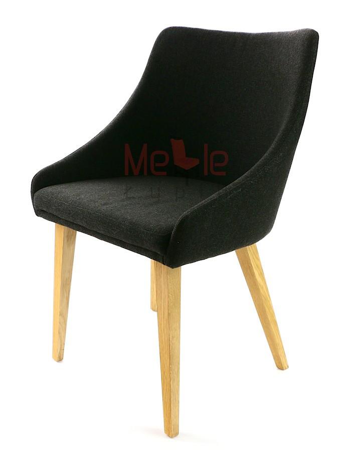 krzesło dębowe prl komuna