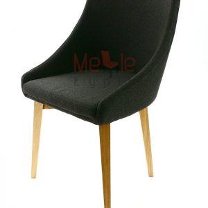 krzesło dębowe krzyżak komuna dąb