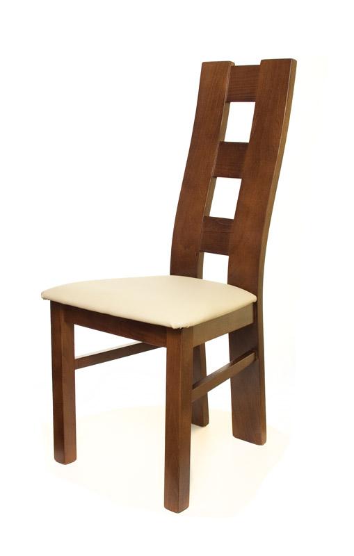 krzesło dębowe kostka