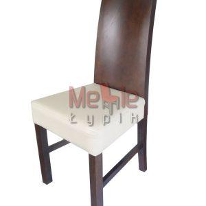 krzesło dębowe grube